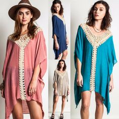 Tunics and leggings for women – Lady Dress Designs Ladies Dress Design, Refashion, Women's Leggings, Kaftan, Boho Chic, Party Dress, Summer Dresses, Clothes For Women, Beach Clothes