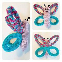 Ravelry: Sommerfuglen Sizzel pattern by Anne Bank Nielsen Crochet Animals, Crochet Toys, Pet Monkey, Toy 2, Teething Toys, Pattern Library, Crochet Projects, Ravelry, Crochet Patterns