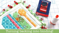 How to use Backing Fabric as your Binding on Quilts - Farm Girl Vintage ...