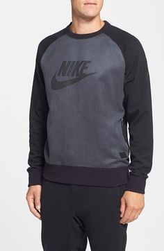 Nike 'AW77 - CR7' Long Sleeve Crewneck Sweatshirt available at #Nordstrom