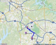Driving Directions from Cary, North Carolina to Prime Outlets At Morrisville in Morrisville, North Carolina 27560 | MapQuest