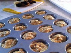 Banana And Quinoa Muffins For Little Fingers