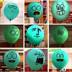 The amazing world of gumball Alan and all his amazing adorable expressions