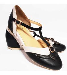 9347e3e6ae3 Charlie Stone Parisienne Shoes - Black Ivory