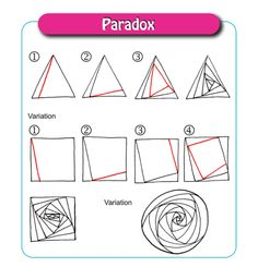 Go-To Patterns continued … – Ina's Tangles