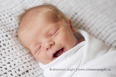a smile! #newborn #photography