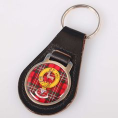 Scott Clan Crest Keyring. Free worldwide shipping available.
