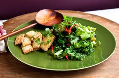 Stir-Fried Lettuce (used chicken instead of tofu) | Martha Rose Shulman on NYTimes Cooking