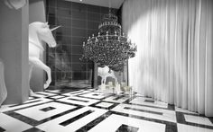 Philippe Starck designed condo in Dubai.