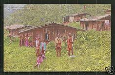 Savage-Tribe-Huts-Kappanzan-Formosa-Taiwan-30s