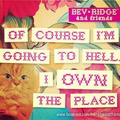 bev ridge just nails it!