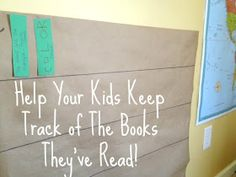 Literacy Launchpad: Help Your Kids Keep Track of the Books They've Read