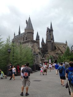 Hogwarts at the Wizarding World of Harry Potter in Orlando