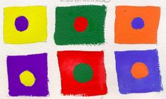Primary Secondary Complementary Colors