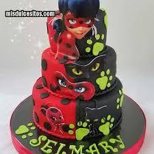 Resultado de imagen de ladybug cumpleaños torta