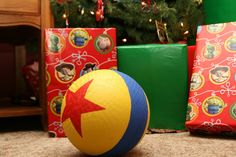 DIY Toy Story Ball. OHMYGOD  I need to make some little ornaments like this :D