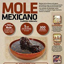 #Mole mexicano, símbolo de identidad, unión y festejo en cualquier hogar. #Infografia #Candidman