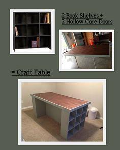 15 delightful organize craft room desks shelves images craft rh pinterest com