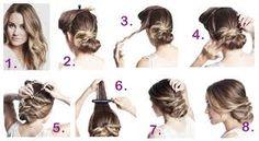 Výsledek obrázku pro navody na ucesy pro dlouhe vlasy