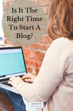 Beginning of a wonderful journey - Is it the right time to start a blog? #WorkAtHome #Blogging #StartABlog #Hampers&Hiccups