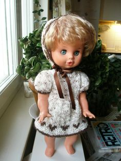 unmarked doll from the 60-thies