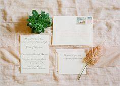 wedding invitations by  Arney Walker Calligraphy