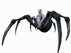 Drider concept - Dungeons & Dragons Online