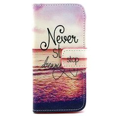 iPod Touch 5th6th Case SAVYOU Premium PU Leather Wallet Flip Case with Builtin Card Slots Cash Pocket Magnetic Closure for Apple iPod Touch 56Style9 -- Continue to the product at the image link. Note: It's an affiliate link to Amazon.