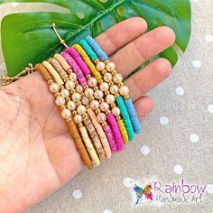 #rainbowhandmadeart  #rainbow #handmade #art #handmadejewelry #handmadejewellery #handmadejewerly  #jewelry #jewelrygram #style #newcollection #adjustable #moodygrams #justgoshoot #stylish #girls #style #stylegram #instafashion #instastyle #giftforher #jewelryaddict  #festivalmood #fashiongram #bracelets #bracelet #ss20 #pearls #shoppingonline Handmade Art, Handmade Jewelry, Rainbow, Stylish, Bracelets, Fimo, Bead, Rain Bow, Rainbows