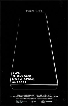 2001: A Space Odyssey - Colin Hesterly.