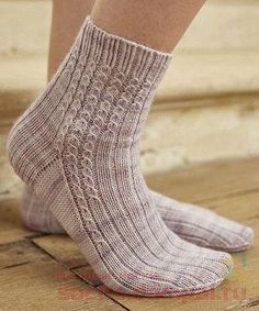 Stride pattern by Clare Devine - Stulpen, Socken und Schuhe - Knitting Ideas Crochet Socks, Knitting Socks, Hand Knitting, Knit Crochet, Knit Socks, Socks Outfit, Patterned Socks, My Socks, Sock Yarn