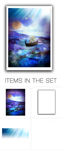 """""""Into the Light"""" by thresholdpaperart ❤ liked on Polyvore featuring art and artset"""