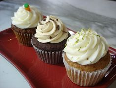 Cream Cheese Frosting - add vanilla, chocalate, or lemon for your own flavor.