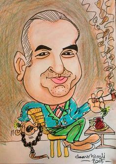 Avm karikatür portre etkinliği