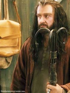 "He's like ""Say that again peasant."" <--Repinning for that comment AND Thorin's face!"