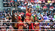 Total Divas vs. B.A.D. & Blonde  ( Brie´s last Match ) #thankyoubrie <3