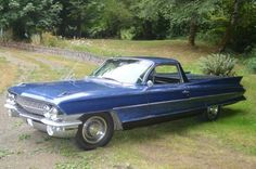 1961 Cadillac DeVille- Modified to Resemble a Chevy El Camin For Sale - Blue