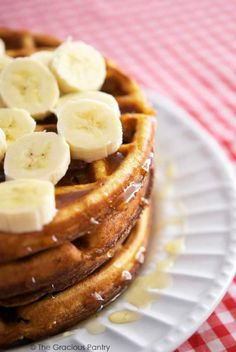 Clean Eating Saturday Morning Waffles Recipe