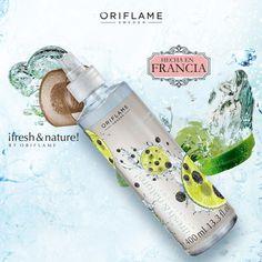 La nueva Fresh & Nature de pimienta y lima es una colonia fresca y masculina, con notas de ámbar y almizcle, que logra un aroma energizante. ¡Perfecto para comenzar el día! #Fresh #Nature #FreshAndNature #ForMen #OriflameMX
