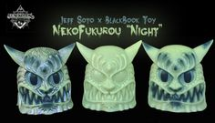 "Jeff Soto x BlackBook Toy: NekoFukurou ""Night"""