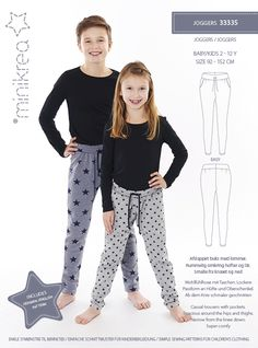Simple sewing patterns in Scandinavian style. Learn how to make fun and stylish design for kids.
