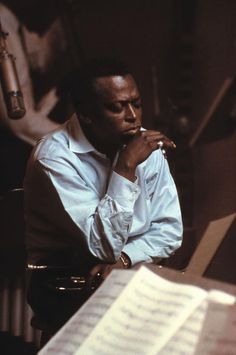 """""""I'm always thinking about creating. My future starts when I wake up in the morning and see the light.""""  ― Miles Davis"""