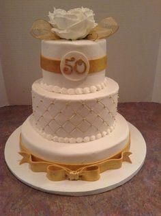 50th anniversary gold ribbon