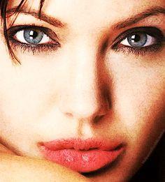Angelina closeup, digital art