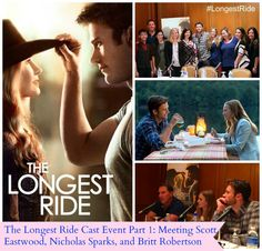 The Longest Ride Cast Event Part 1: Meeting Scott Eastwood, Nicholas Sparks, and Britt Robertson | The Mama Maven Blog #LongestRide @themamamaven