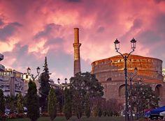 Rotonda-Byzantine church in the evening