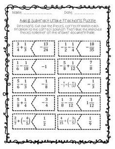 math worksheet : 1000 images about breuken on pinterest  fractions worksheets  : Fraction Puzzle Worksheets