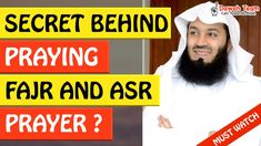 🚨SECRET BEHIND PRAYING FAJR AND ASR PRAYER🤔 - MUFTI MENK - YouTube