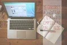 15 errores a evitar cuando empiezas un blog | milowcost♥