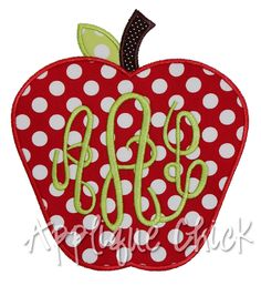apple applique